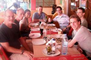 Lunch at the Maputo Fish Market