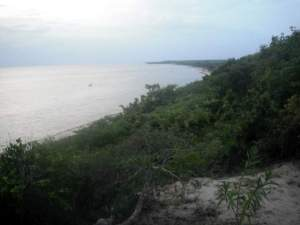 Marimba's Beach From Marimba's Bluff